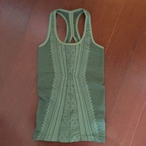 Nux Green Yoga Top Size S